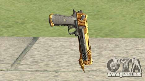 Desert Eagle (Born Beast Noble Gold) para GTA San Andreas