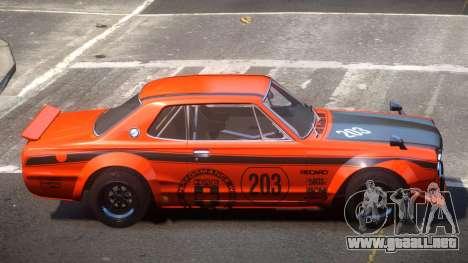 Nissan Skyline GT Qz PJ4 para GTA 4
