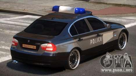 BMW 320i RS Police para GTA 4