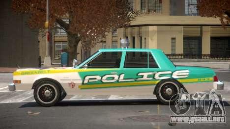 Dodge Diplomat Police V1.4 para GTA 4