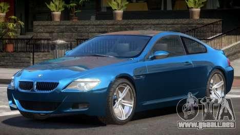 BMW M6 F12 MS para GTA 4