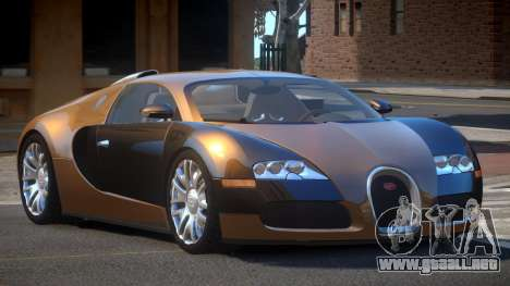 Bugatti Veyron DTI para GTA 4
