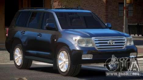 Toyota Land Cruiser 200 LS para GTA 4