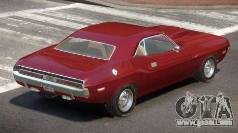 Dodge Challenger SR para GTA 4