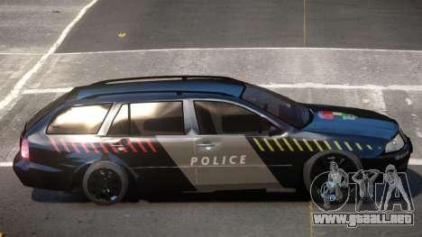 Skoda Octavia LS Police para GTA 4