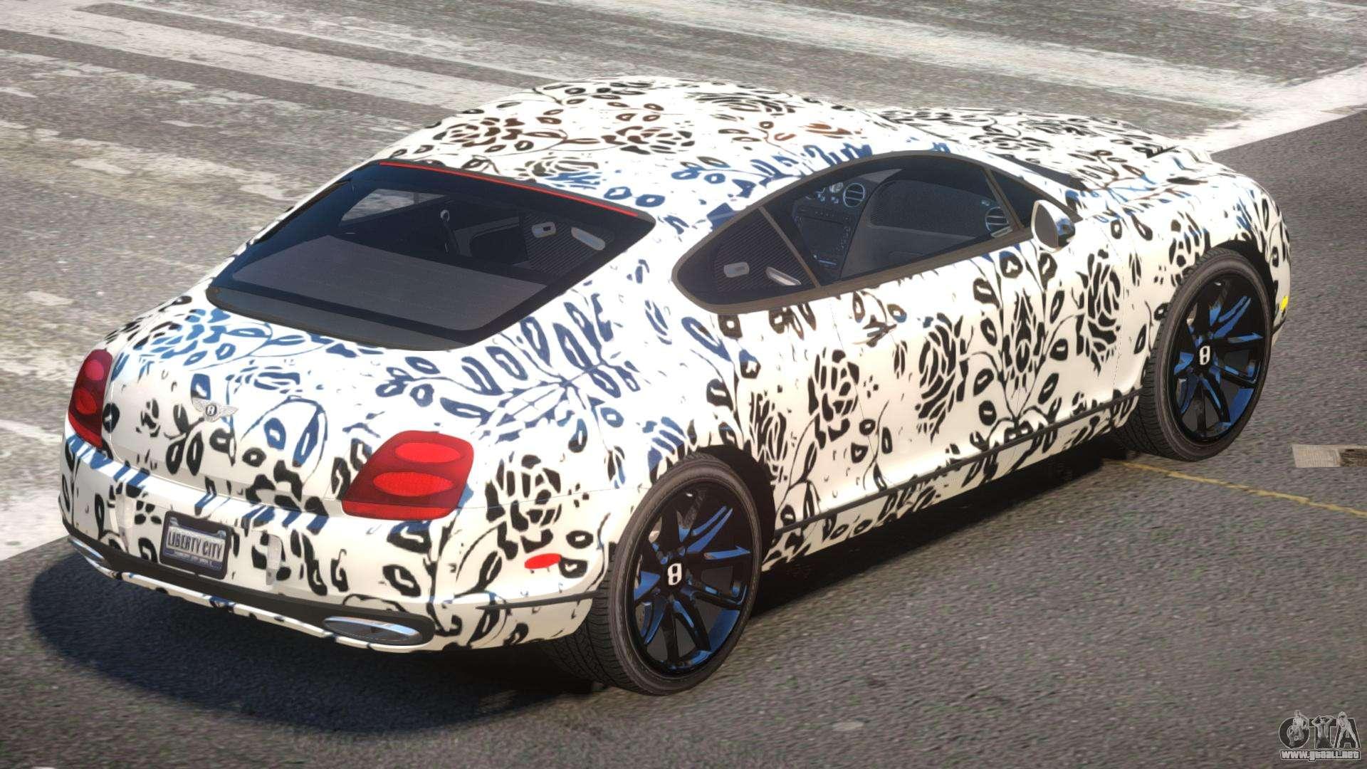Bentley Continental S-Edit PJ5 para GTA 4