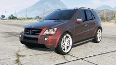 Mercedes-Benz ML 63 AMG Kriminalpolizei para GTA 5