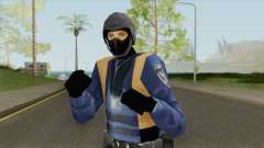 Beta Swat Skin (GTA Vice City) para GTA San Andreas