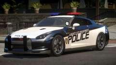 Nissan GT-R Police V1.0 para GTA 4