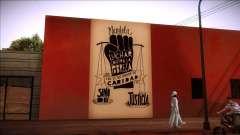 Mural de Mandela sobre la pobreza para GTA San Andreas