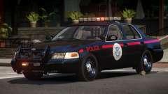 1997 Ford Crown Victoria Police para GTA 4