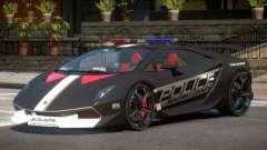 Lamborghini SE Police V1.3 para GTA 4