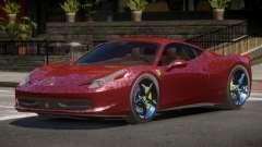 Ferrari 458 Italia V1.2 para GTA 4
