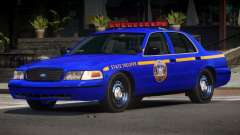 Ford Crown Victoria NYS Police para GTA 4