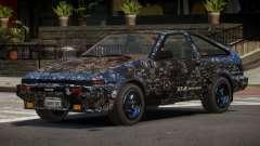 Toyota AE86 GT-S Hatchback PJ4 para GTA 4