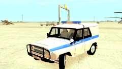 La Policía UAZ 31512 para GTA 4