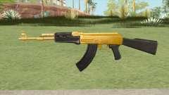 AK-47 (Gold) para GTA San Andreas
