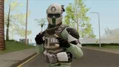 FBI Skin (PAYDAY 2) para GTA San Andreas
