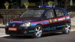 Volkswagen Golf V Police para GTA 4