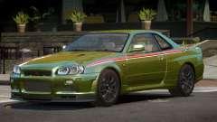 Nissan Skyline GT-R R34 Qz PJ4 para GTA 4