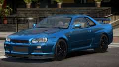 Nissan Skyline GT-R R34 Qz para GTA 4