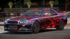 Nissan Skyline GT-R R34 Qz PJ1 para GTA 4