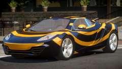 McLaren MP4-12C GT PJ5 para GTA 4