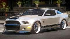 Shelby GT500 SR para GTA 4