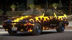 Toyota AE86 GT-S Hatchback PJ3 para GTA 4