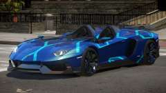 Lamborghini Aventador Spider SR PJ2 para GTA 4