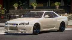 Nissan Skyline R34 V2.1 para GTA 4