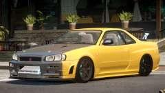Nissan Skyline R34 S-Tuned para GTA 4