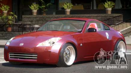 Nissan 350Z L-Tuned para GTA 4