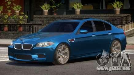 BMW M5 F10 V2.1 para GTA 4