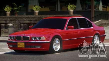 1993 BMW 750iL E38 para GTA 4