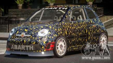 Fiat 500 L-Tuned PJ4 para GTA 4