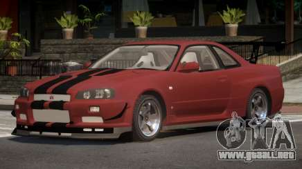 Nissan Skyline R34 LS para GTA 4