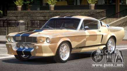 1968 Shelby GT500 PJ1 para GTA 4