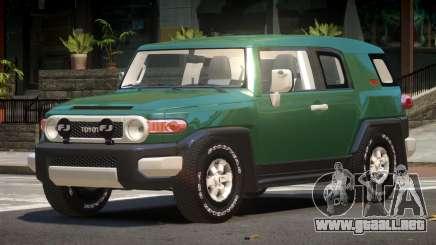 Toyota FJ Cruiser ST para GTA 4