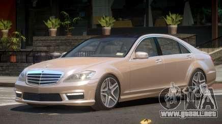 Mercedes Benz S65 V2.3 para GTA 4