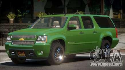 Chevrolet Suburban V2.1 para GTA 4