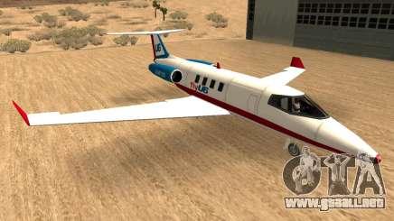 Buckinghan Shamal-Luxor V2 (Líneas Aéreas Canta) para GTA San Andreas