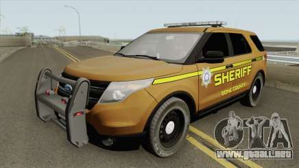 Ford Explorer 2012 (Bone County Sheriff) para GTA San Andreas