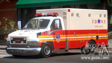GMC C4500 Ambulance V1.2 para GTA 4
