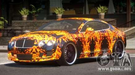 Bentley Continental GT Elite PJ1 para GTA 4