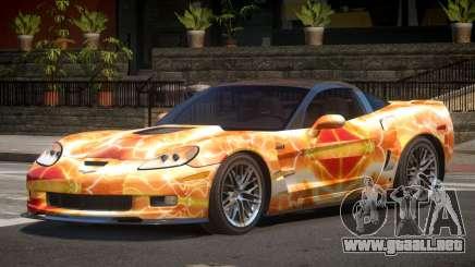 Chevrolet Corvette ZR1 LS PJ5 para GTA 4