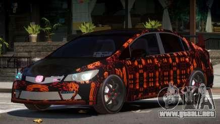 Honda Civic R-Tuning PJ4 para GTA 4