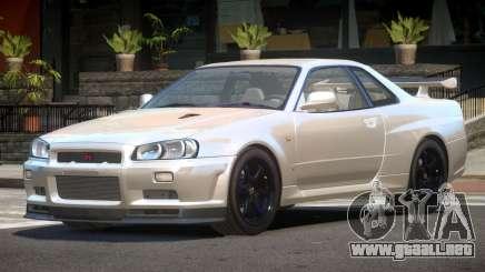 Nissan Skyline R34 E-Style para GTA 4