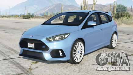 Ford Focus RS 2017 para GTA 5
