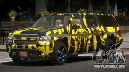 Chevrolet Suburban E-Style PJ1 para GTA 4